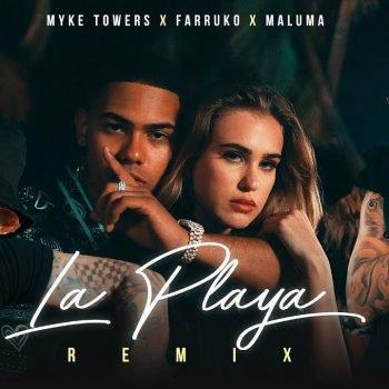 La Playa Remix con Farruko y Maluma